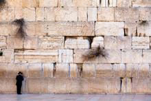 View Of The Jerusalem Wailing Wall, Israel