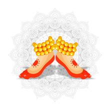 Classical Or Kathakali Dancer ...