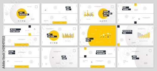 Presentation template design Canvas-taulu
