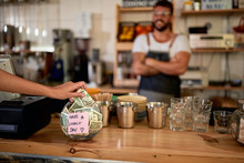 Coffee Business Concept.Tips J...