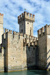 Scaligero castle of Sirmione - Italy.