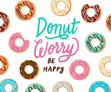 Don't Worry Be Happy. Cute Pri...