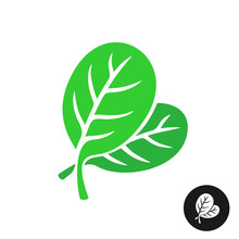 Spinach Leaves Illustration. S...