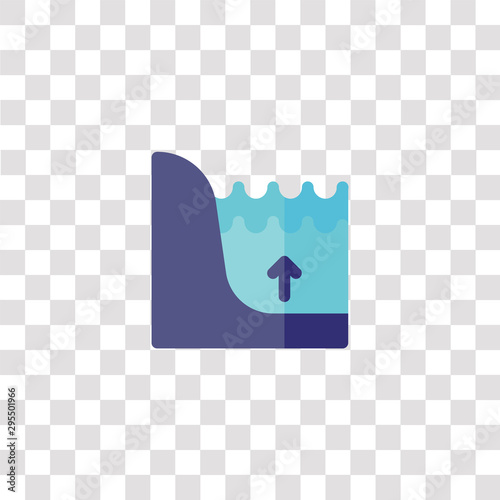 flood icon sign and symbol Fototapet