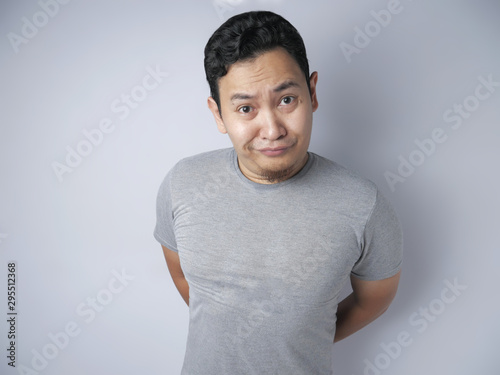 Funny Asian Man Smiling фототапет