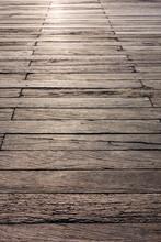 Wooden Boardwalk Detail