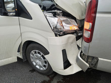 Van Accident Involving Two Car...