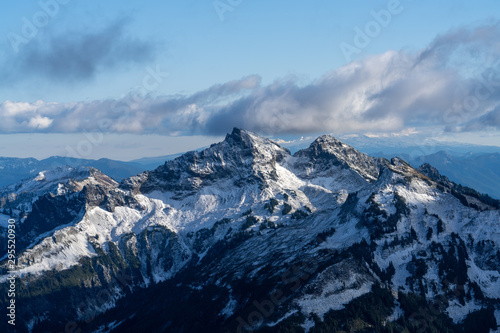 Tatoosh Mountain Range First Snow