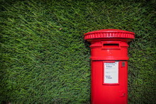 Classic Red British Pillar Box...