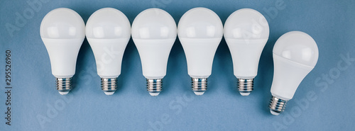 Energy saving and eco friendly LED light bulbs
