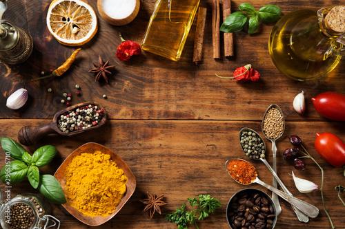 fototapeta na szkło Spices