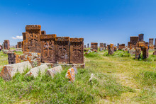 Stone Crosses Known As Khachka...
