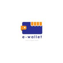 E-wallet Logo, Digital Wallet....