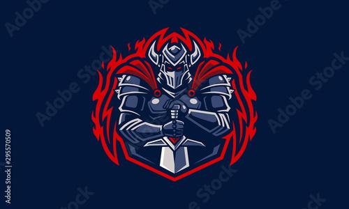 Dark Knight Logo Canvas Print