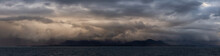 Dramatic Panoramic View Of A C...