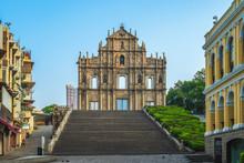 UNESCO, Ruins Of St. Paul's In Macau, China