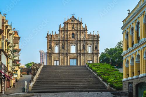 Fotografía  UNESCO, Ruins of St. Paul's in Macau, China