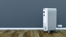 Electric Room Oil Heater - 3d ...