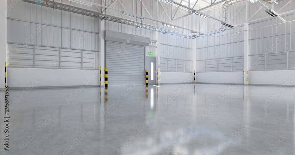 Fototapety, obrazy: industrial building background
