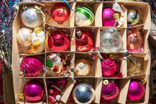 Christmas Toys In A Box