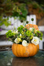 Colorful Autumn Bouquet With F...