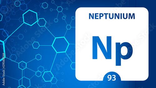 Fototapeta  Neptunium 93 element