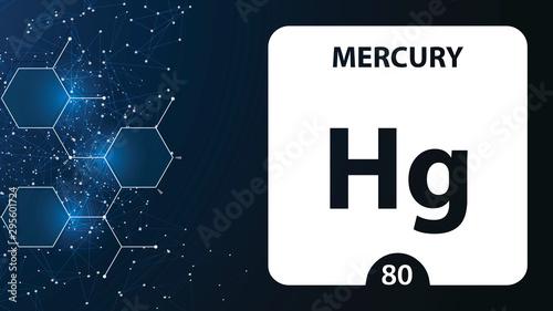 Fotografie, Obraz  Mercury 80 element