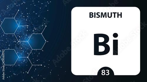 Fotografia  Bismuth 83 element