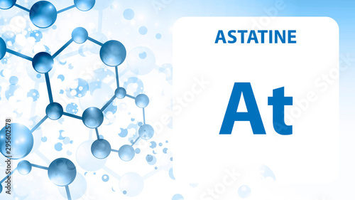 Astatine 85 element Wallpaper Mural