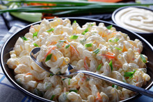 Close-up Of American Macaroni ...