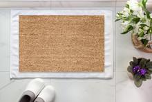 Mock-up Of Coir Doormat, Light Interior Photo