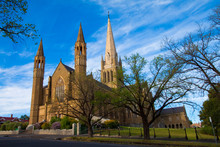 Sacred Heart Cathedral In The Victorian Gold Rush Era City Of Bendigo Is The Largest Cathedral In Rural Australia.
