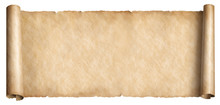 Old Long Scroll In Horizontal ...