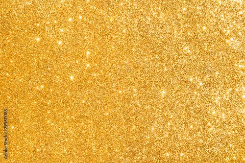 golden glitter abstract background - 295615188