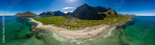 Recess Fitting Northern Europe Beach Lofoten archipelago islands beach