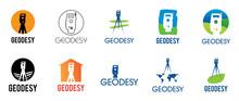 Vector Logo Of Geodesy, Design...