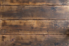 Close Up Of Wall Made Of Woode...