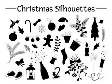 Vector Set Of Christmas Object...