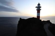 Puesta De Sol En Punta De Teno