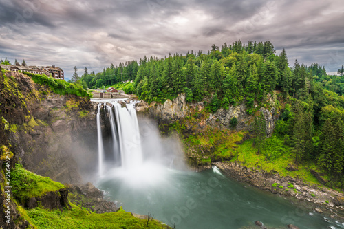 Photo sur Aluminium Vieux rose Snoqualmie, Washington, USA