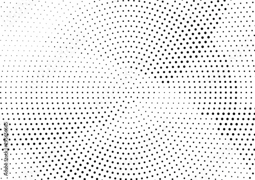Fotografía  Abstract halftone dotted background