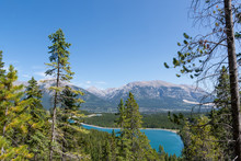 The Grassi Lakes In Canmore, Canada