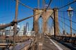 New York Brooklyn Bridge Morning