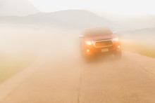 Driving Cars In The Fog Mounta...