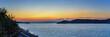 Leinwandbild Motiv greece lighthouse on an island