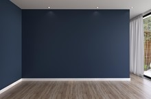 Realistic Mock Up Of Empty Int...
