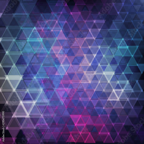 obraz dibond abstract background with triangles