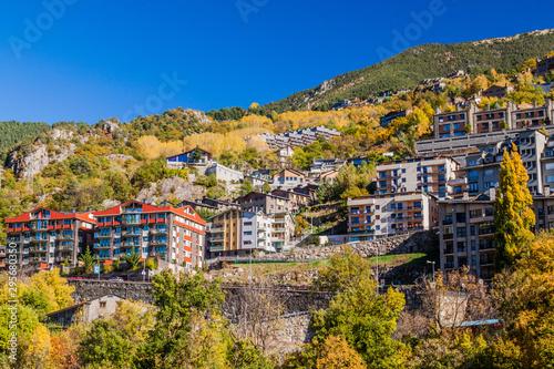 Photo Buildings of Escaldes-Engordany town, Andorra