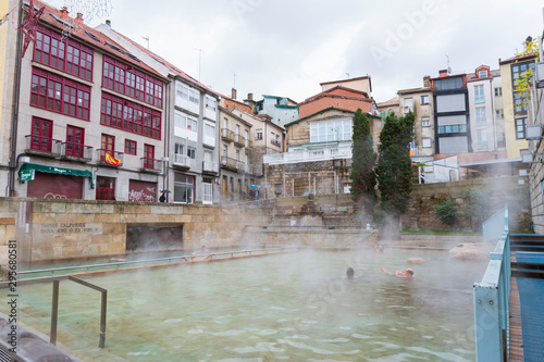 Orense,Spain,1,2016;city of Galicia known for its hot springs