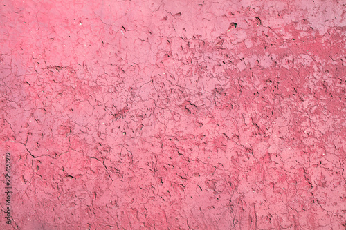 Foto op Canvas Candy roze Red wall background